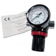 Tryckluftregulator med manometer, 1/4